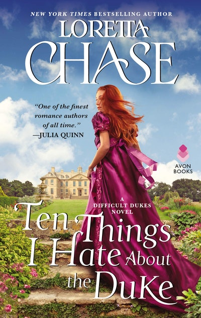 'Ten Things I Hate About the Duke' by Loretta Chase