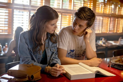 Kate Mara as Claire Wilson, Nick Robinson as Eric Walker in A Teacher, via Hulu press site.