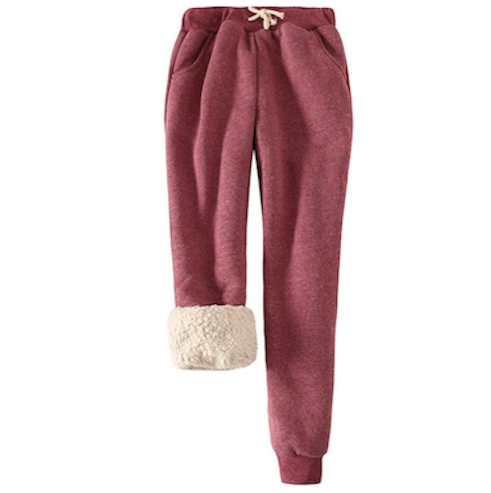 Snoly Fleece-Lined Sweatpants