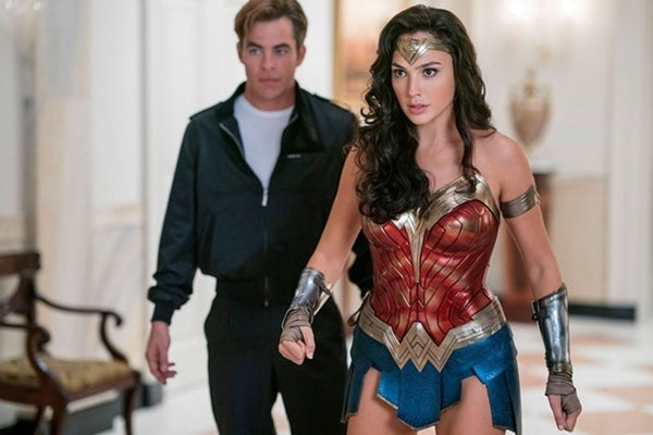Gal Gadot and Chris Pine in 'Wonder Woman 1984'