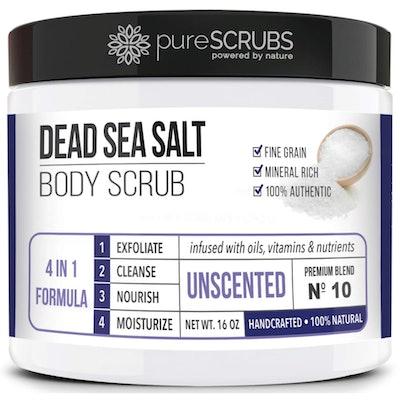 pureSCRUBS Organic Body Scrub (16 Ounces)