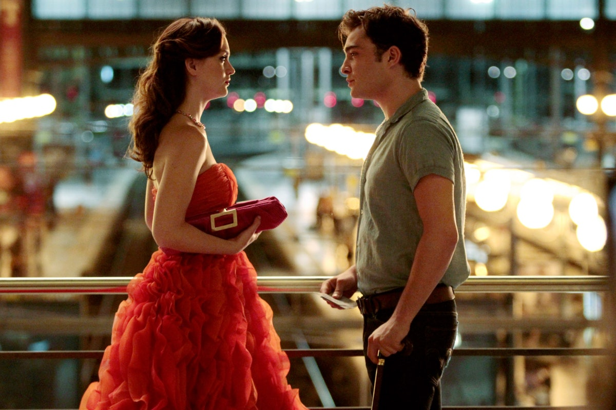 Leighton Meester and Ed Westwick on 'Gossip Girl'