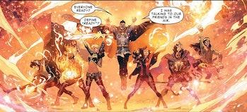wandavision doctor strange team-up comics marvel mcu