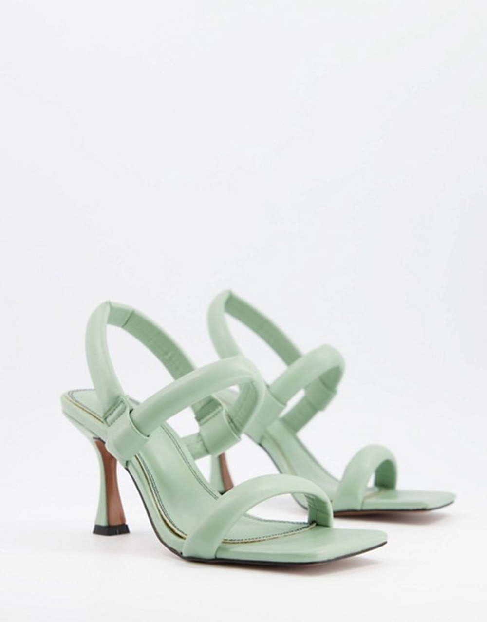 Hickory Padded Mid-Heeled Sandals
