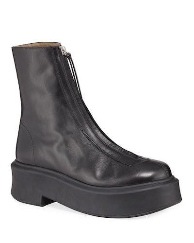 Zipped Combat Boots