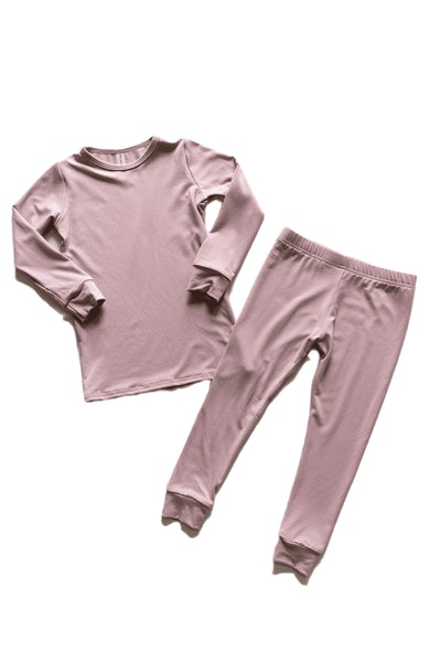 Classic Thermal Pajama in Petal