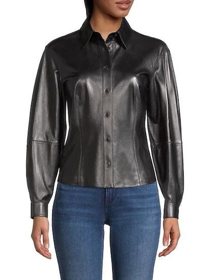 Davies Leather Shirt