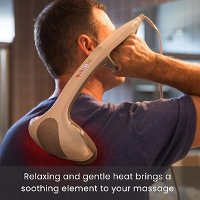 HoMedics Percussion Action Massager with Heat