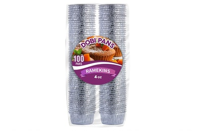 DOBI Disposable Aluminum Foil Ramekins (100-Count)