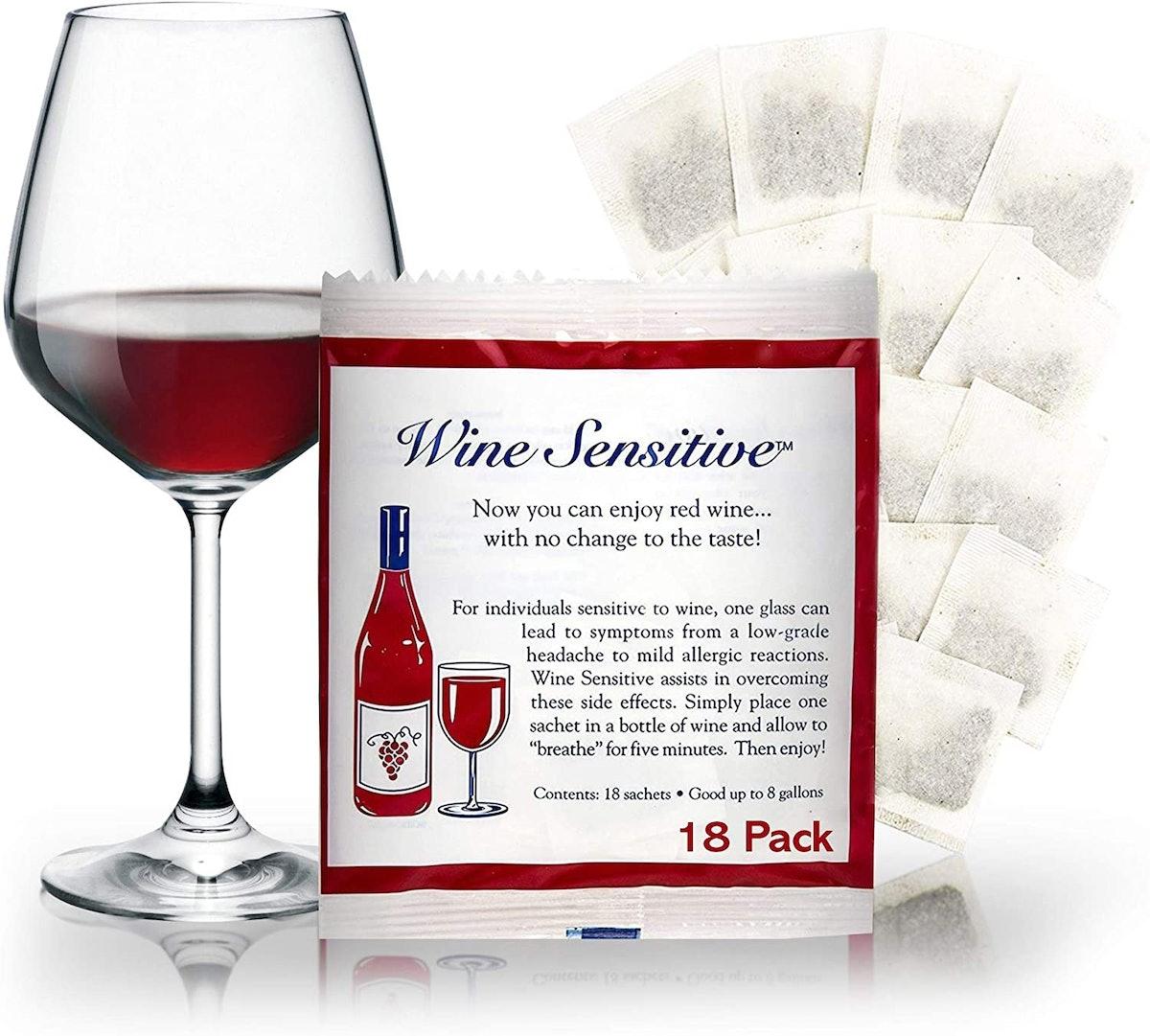 Wine Sensitive Wine Purifier Packets (18-Pack)