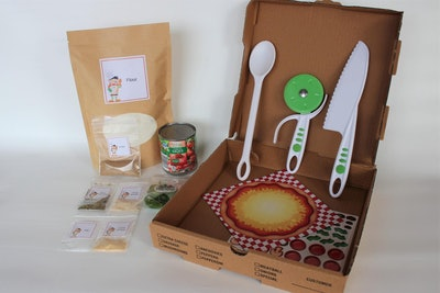 EdibleEducation, Kids Prep a Pizza Kit