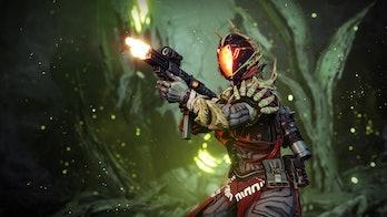 destiny 2 shooting submachine gun