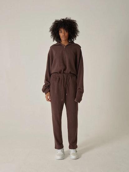 Track Pants Brown