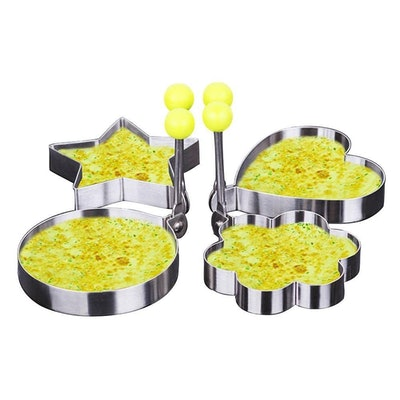 Egg Shaped Molder - Set of 4