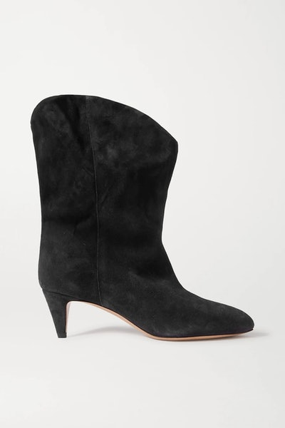 Dernee Suede Ankle Boots