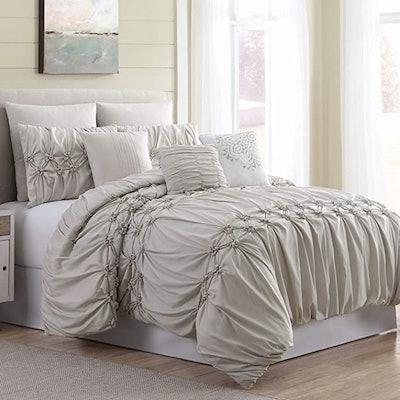 Amrapur Overseas Sophie Comforter Set, 8 Pieces (Queen)