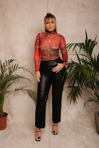Gaia Top Red