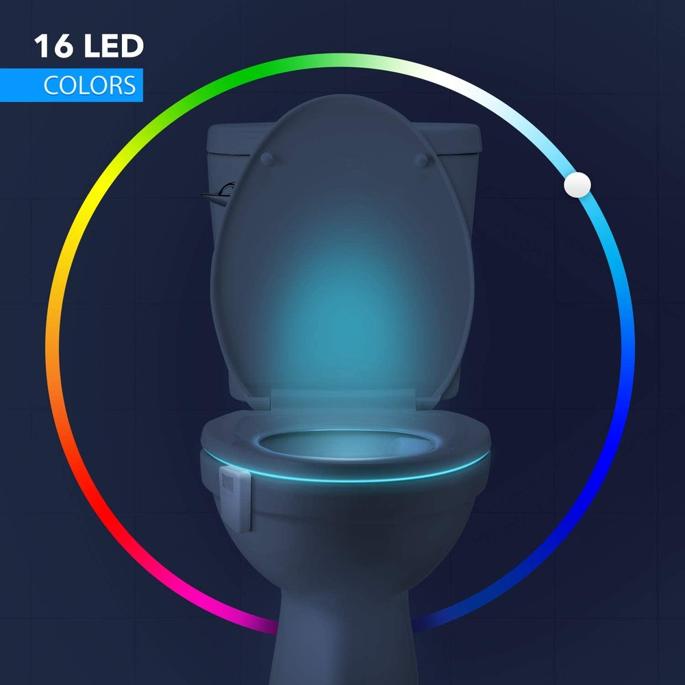 LumiLux Motion-Sensor Toilet Light
