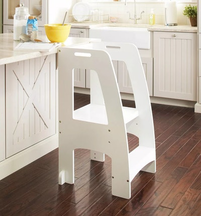 Kids' Step-Up Kitchen Helper White - Guidecraft