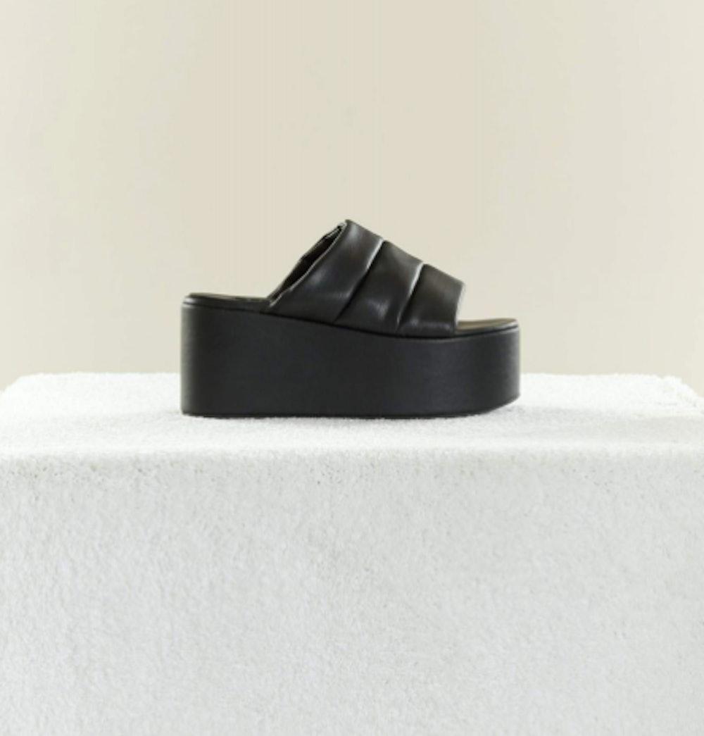 Vegan Leather Coaster Platform