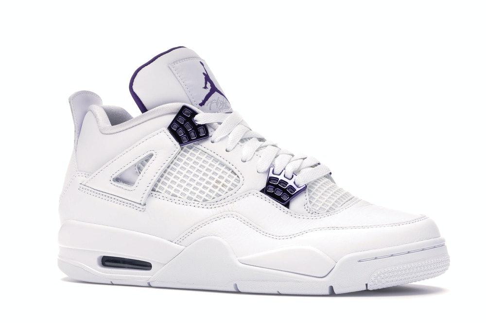 Jordan 4 Retro 'Purple Metallic'