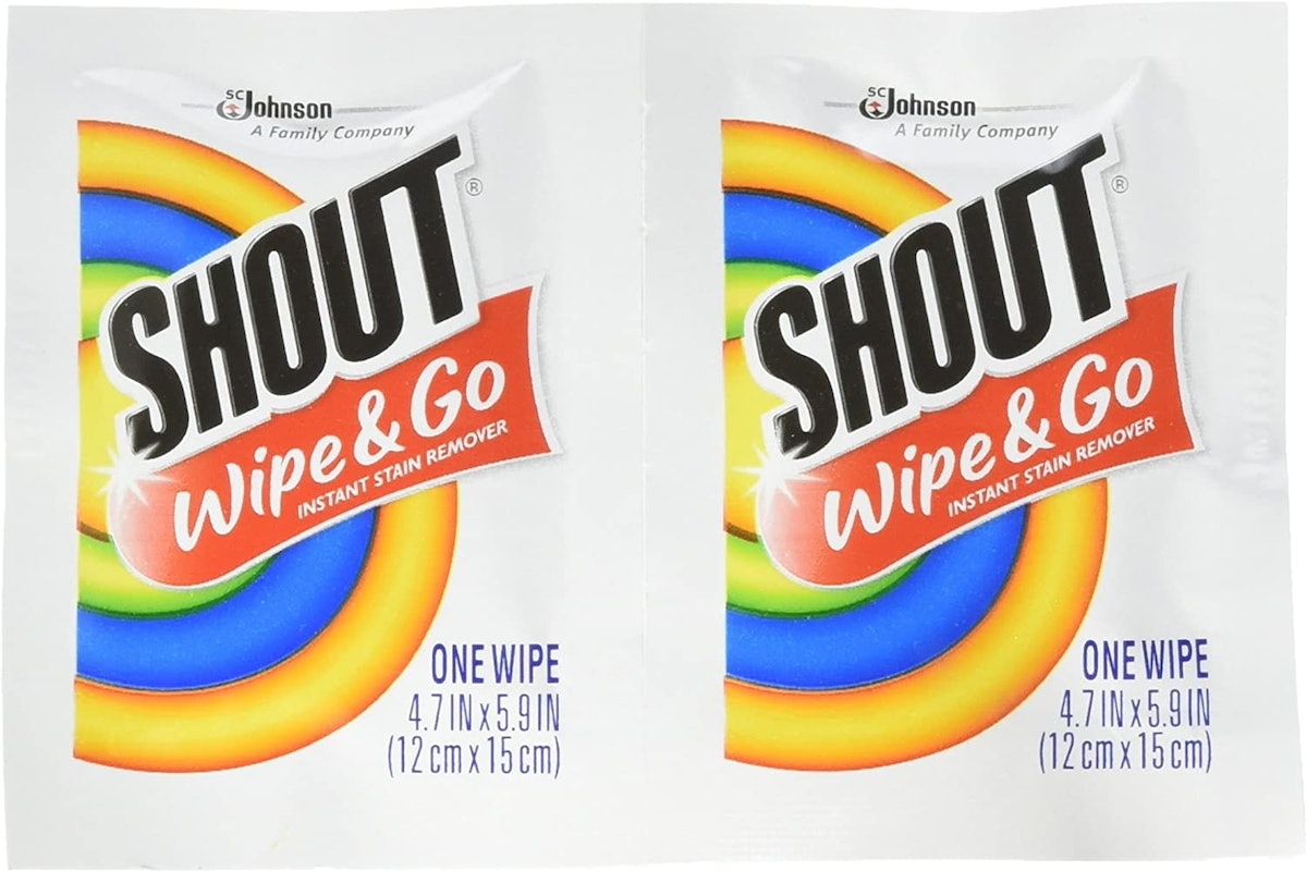 Shout Instant Stain Remover Towelette Wipes (80-Pack)