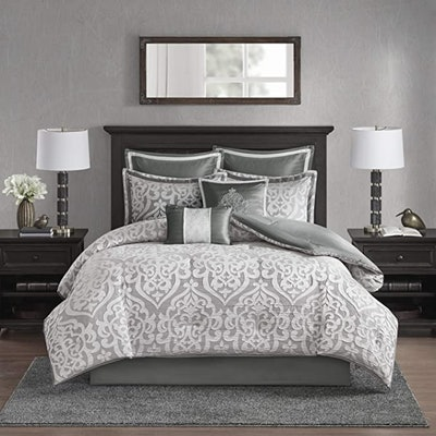 Madison Park Odette Comforter Set, 8 Pieces (Queen)