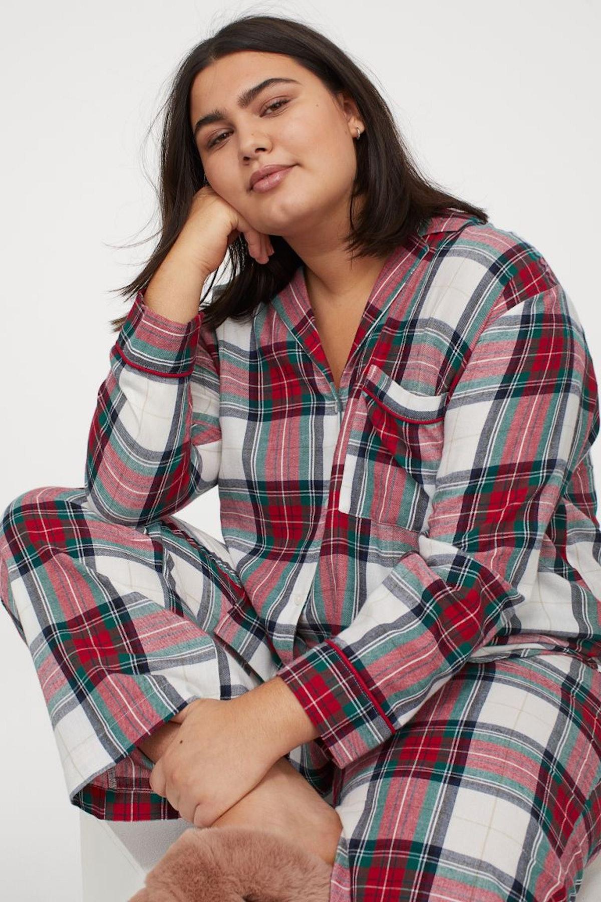 H&M+ Flannel Pajamas