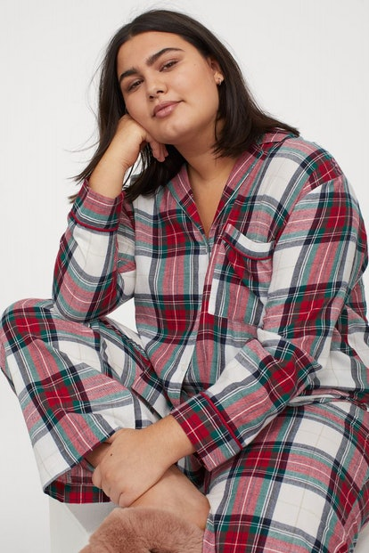 H&M+ Flannel Pajamas