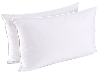 puredown Down Feather Pillows (2-Pack)