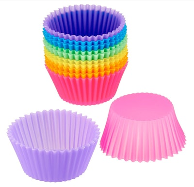 Silicone Reusable Baking Liners (12-pack)