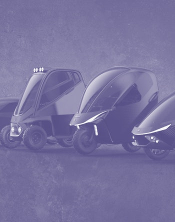 The Avvenire line of electric vehicle concepts from Daymak
