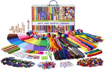 Kid Made Modern Arts and Crafts Library Kit