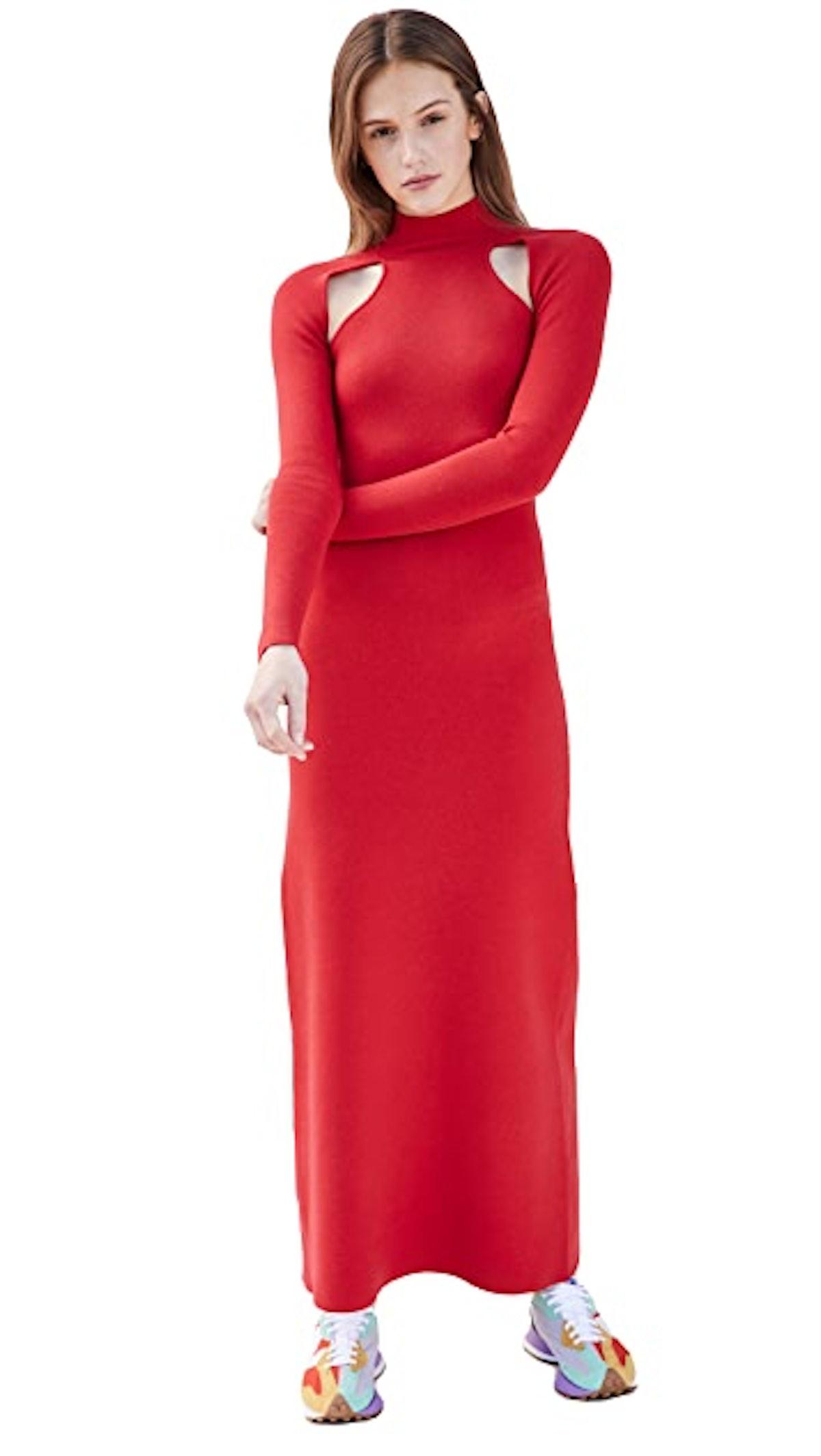 T Neck Dress