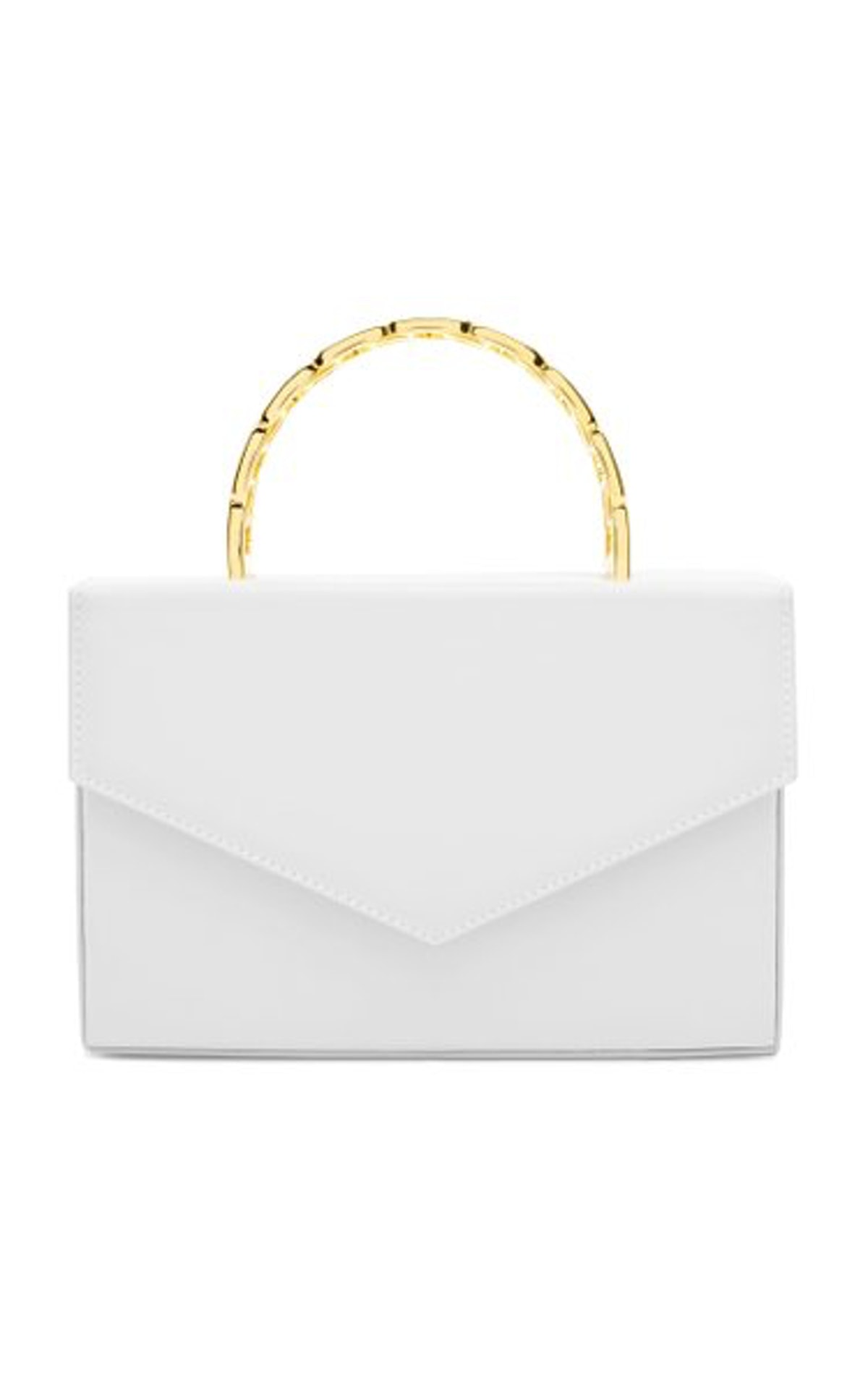 Pernille Leather Top Handle Bag