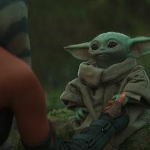 Grogu, AKA Baby Yoda, in 'The Mandalorian' Chapter 13.