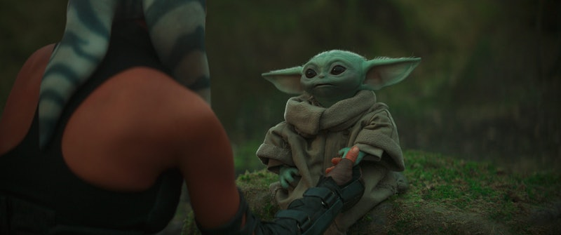 Grogu, AKA Baby Yoda, in 'The Mandalorian' Chapter 13.