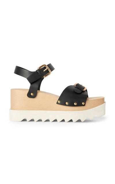 Elyse Vegan Leather Platform Sandal