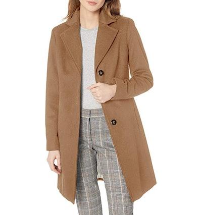 Calvin Klein Classic Wool-Blend Coat