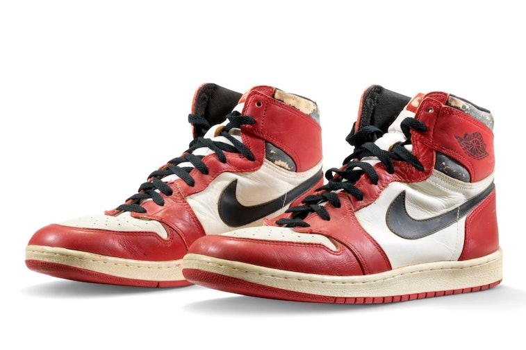 "Air Jordan 1 ""Shattered Backboard"" Game-Worn"