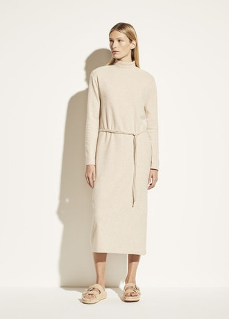 Long Sleeve Turtleneck Dress