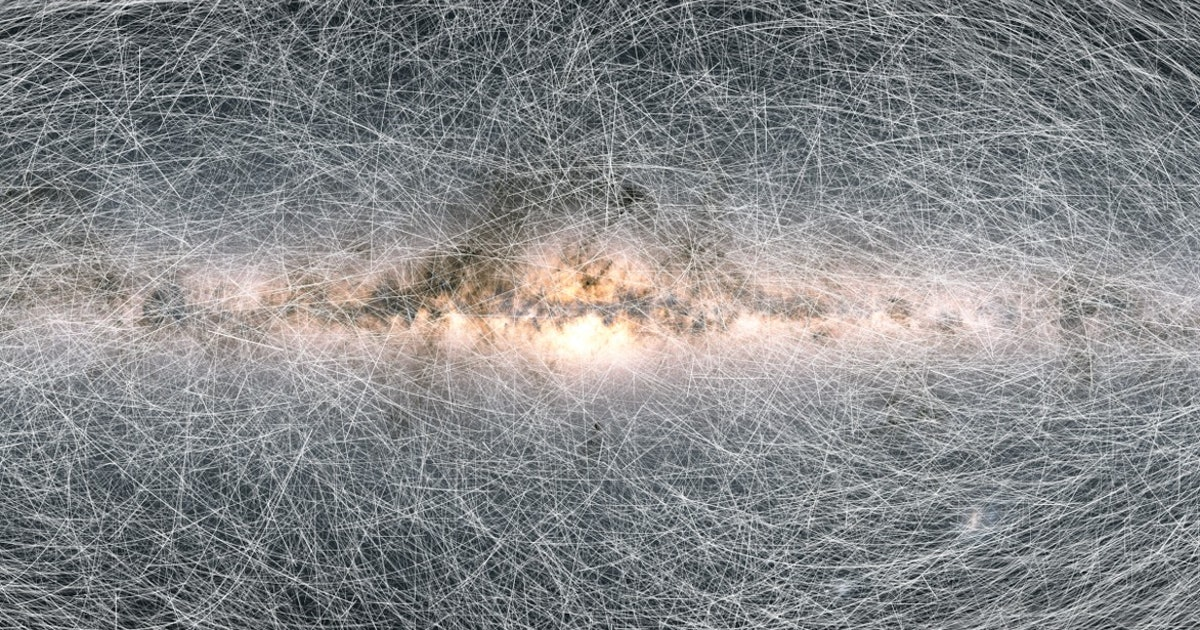 In a first, astronomers catch the Solar System moving through space
