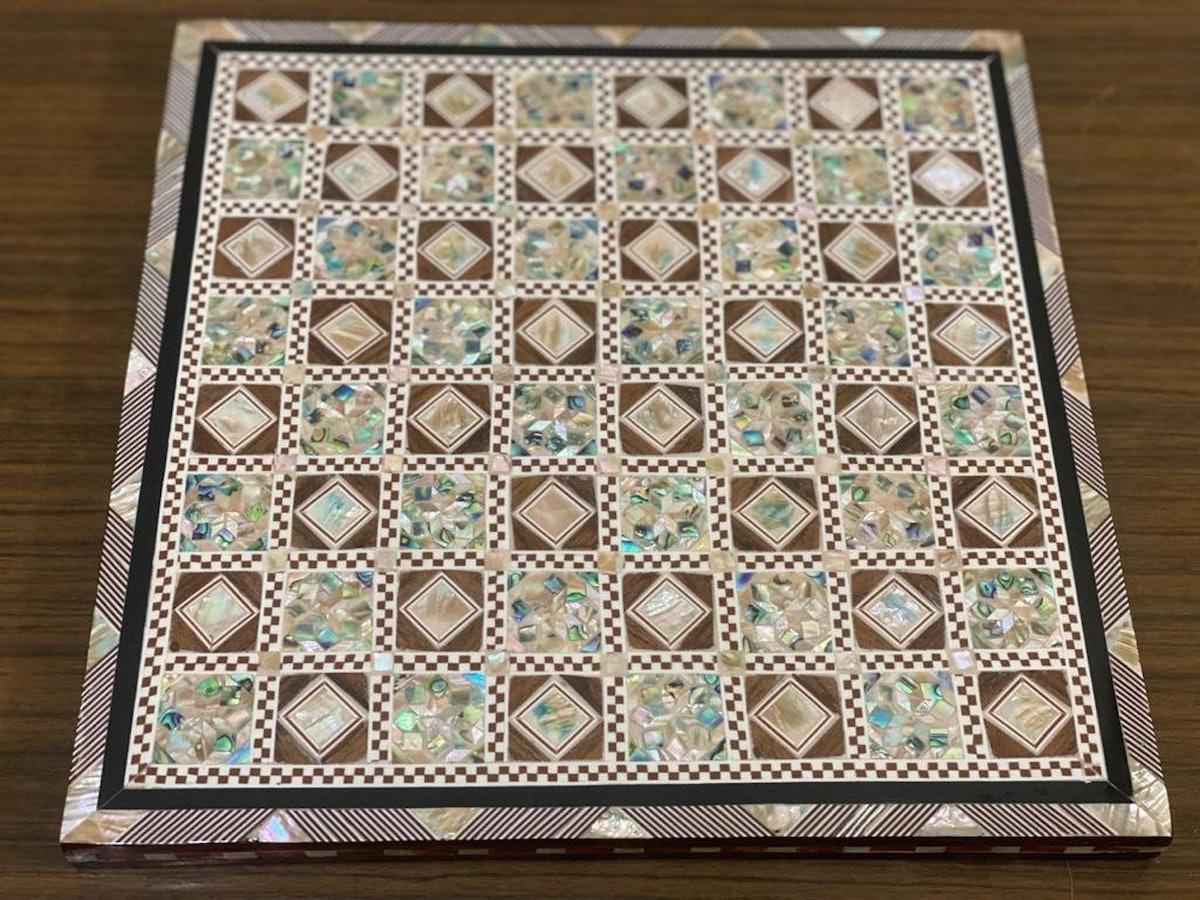 Handmade Beech Wood Chess Board