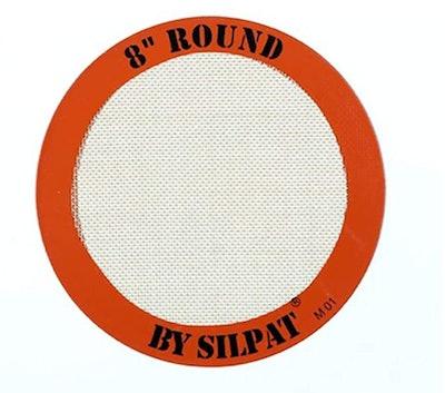 "8"" Silpat Round Cake Liner"