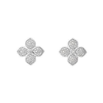 La Fleur Diamond Radiant Studs