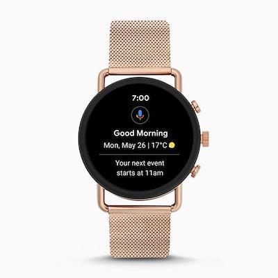 Smartwatch HR - Falster 3 Rose-Tone Steel-Mesh