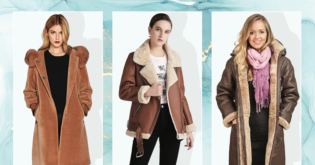 These Shearling Coats Are So Chalet-Chic — & Believe It Or Not, They're On Amazon