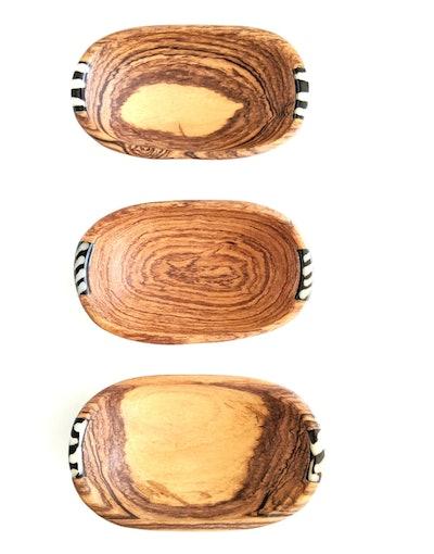 Olive Wood Spice Bowls