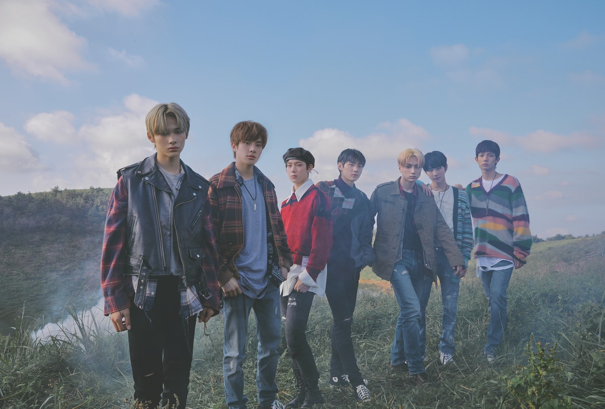 K-group ENHYPEN, who just dropped their debut EP, 'BORDER : DAY ONE,' on Nov. 30.