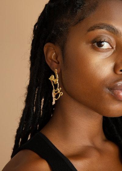 Big Cat Earrings